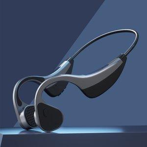 TWS Bluetooth 5.0 Bone Conduction Earphone G100 Hi-tech Wireless Headphones Outdoor Sport Headset with Microphone Handsfree Headsets For Iphone Samsung all phones
