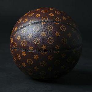 Spalding L . V leather Basketball 24K Black Mamba Merch ball Commemorative edition PU game