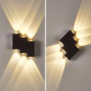 Modern Minimalist Indoor Lighting Outdoor Aisl r Door Courtyard Staircase Porch Waterproof LED Wall Lamp