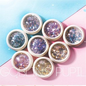 Soft Smile Brand Mixed Nail Glitter Powder Sequins Colorful Flakes Sticker 3d Sliders Dust For Art Decorations1