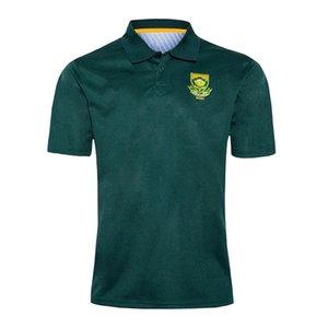 África do Sul T-shirt do t-shirt do rugby dos homens