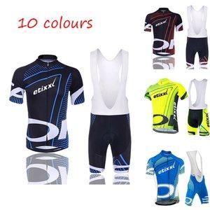 Costume de cyclisme de bandoulière Etixxl Nouvelle manche à manches courtes