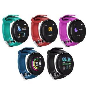 D18S Smart Band Sport Bracelet SmartWatch Men Women Waterproof Blood Pressure Fitness Tracker Smartband For Android IOS