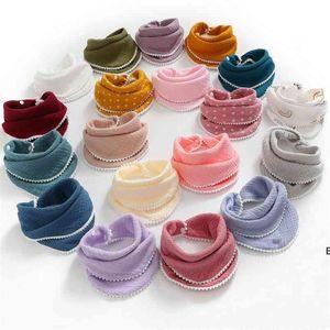 Infants Cotton Gauze Bib Soft Newborn Water Towel 4 layers Scarf Bath Wash handkerchief Bandana Burp Cloth Feeding Saliva Towels DHA5236