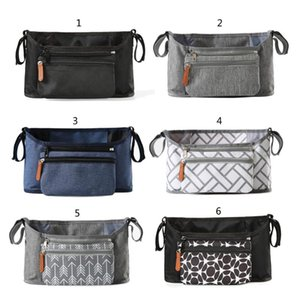 Stroller Parts & Accessories Multi-pocket Baby Bag Organizer Pouch For Pram Portable Mummy Extension Storage Bags