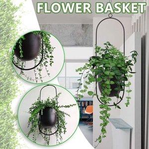 Creative Hanging Wrought Iron Flowerpot, Hydroponic Plant Flower, Aerial Pendant Decoracion Hogar Moderno Nordic Style Vases