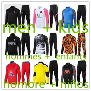 men + kids Inter Milan tuta fc Barcelona jersey training tracksuit maillot borussia dortmund bayern munich München survêtement survetement tracksuits baby jerseys 2021