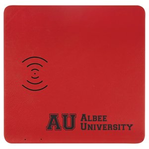 """8"""" x 8"""" Laserable Leatherette Phone Charging Mat and Mouse Pad"""