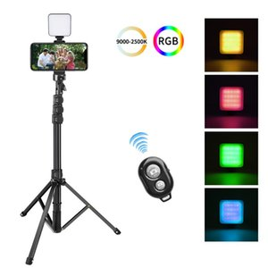 Tripods 20-63 Inch Aluminum Tripod With Control Phone Stand Pography For Live Selfie Ring Light Camera