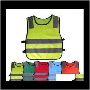 Kids Safety Clothing Reflective Vest Children Proof Vests High Visibility Warning Patchwork Vest Safety Construction Tools Gga1561 Ixj Vcjrw
