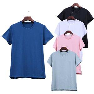 Hombres Spandex de alta calidad para hombres que corren camiseta camiseta seco rápido aptitud camisa entrenamiento ejercicio ropa gimnasio deportes camisetas tops