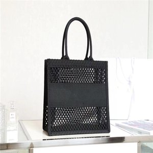 Classic Ladies Bag 7A High End Custom Quality Mesh Fabric Shopping Fashion Trend Business Casual Style Large Volume