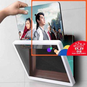 Prácticas rotaciones flexibles Impermeable Lui Titular Teléfono Tableta Montaje Soporte Soporte Houder para Baño Bureau Cama Clip Thuiskantoor