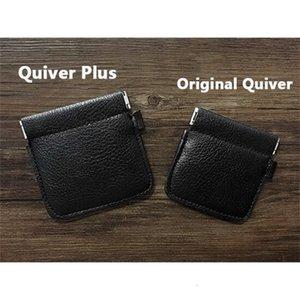 Props SOLOMAGIA Quiver VDR by Kelvin Chow Magic tricks mentalism close up magie,Genuine Leather,Plus 1020