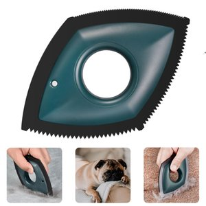 Professional Mini Pet Hair Detailer Dog Cat Remover Brush for Cleaning Carpets, Sofas, Home Furnishings and Car Interiors OWF9399