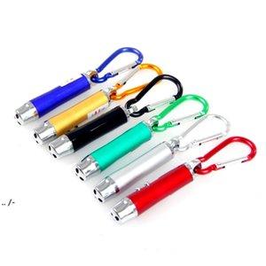 As várias mini lanterna keychain tocha elétrica liga de alumínio LED Qualidade prometida BWD5657