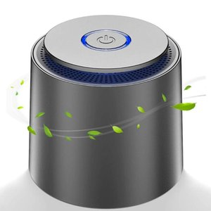 Air Purifiers USB Purifier With Activated Carbon HEPA Filter Ionizer Generator Deodorizer Cleaner Remove Formaldehyde Allergies Dust