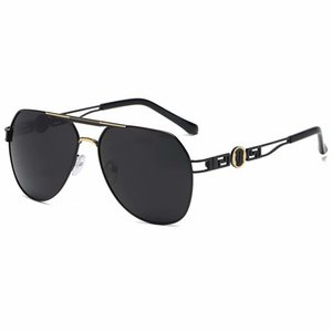2021 디자이너 선글라스 고품질 브랜드 편광 렌즈 태양 안경 남성과 여성 금속 프레임 6 색 2039