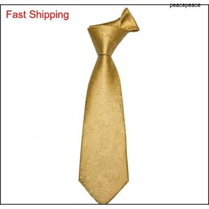 Hi-tie New Arrival 100% Silk Men Ties Gold Jacquard Woven Ties Hanky Cufflinks Set Gravatas Fr qylYKm nana_shop