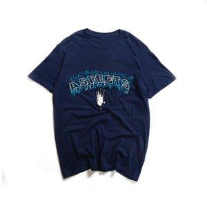 XXXTINTACION Summer T-shirt a maniche corte Aspetti Aspetti Lettera di moda maschile Stampa Uomini e donne Sport Sport Top T-shirt