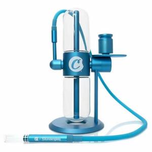 Possa design gravity narghilè alimentata kit tubo per acqua contactless e sigaretta accessori per fumo di vetro Bong Stunden Recycler per tabacco a secco olio vape penna