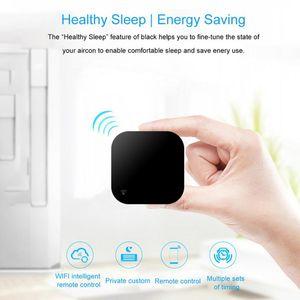 Tuya wifi ir تحكم عن بعد الحياة الذكية التطبيق التحكم الصوتي للتحكم في التلفزيون تكييف الهواء مروحة العمل مع أليكسا جوجل المنزل