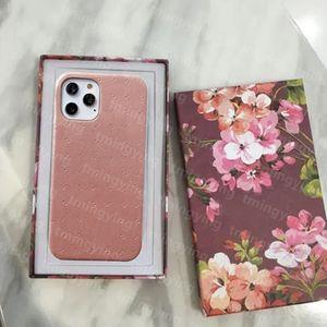 Casos del teléfono del diseñador para iPhone 12 Mini 11 Pro MAX XS XR X 8 7 PLUS MODELA G POR PULSER PROTECTOR Funda Marca FUERA DE VOLVER SAMSUNG S20 S21 Nota 20