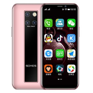"""Realme soyes Mobile Phones unlocked cellphones 3.5"""" 4G LTE android9.0 smartphones Moviles 3+64GB 2100mah with face unlock for Girls Women"""