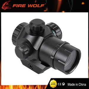 Tactical Tactical Mini 1x22 Red & Green Dot pistol Sight Scope Airsoft Riflescope Hunting Scope for 20mm Rail