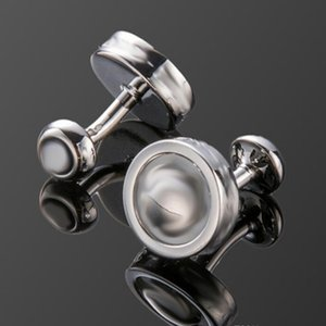 L_M06 Top Luxury Cufflinks Classic With Logo Cuff Links Wholesale Price 4 Colors