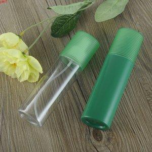 Yeni Varış 150 ml Yeşil / Temizle Boş Plastik Sprey Şişesi, Doldurulabilir Küçük Pet Atomizer, Parfüm Örnek Konteyner Makyaj TomruklarıGoods