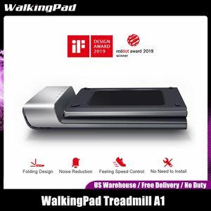 Kingsmith Walkpad A1 الذكية الكهربائية طوي مفرغه الركهة المشي الهوائية الرياضية معدات اللياقة البدنية