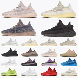 2021 With box sneakers 36-48 Carbon Israfil Running Shoes Ash Pearl Blue Stone Sand Taupe Black Static Reflective Cream Bred trainers sports
