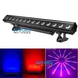 2pcs / lot 14x30w RGB 3in1 / RGBWA 5in1 LED waterproof wall washer up illuminazione flash pixel in esecuzione stage barra luce IP65 moduli