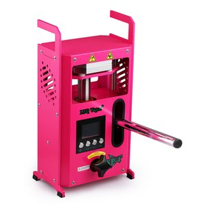 Rosin Press Machine 미국 영국 EUOPE 창고 4TONS E CIG 액세서리 듀얼 플레이트와 추출을위한 압력 조정 가능한 템퍼맨 열 사전 프레스 기계