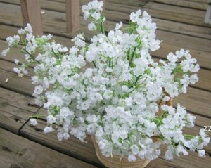 New Flowers Artificial Gypsophila Fake Silk Flower Plant Home Wedding Party Home Decoration Christmas Party Decoration Bouquet HWD7430