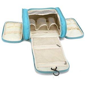 Sac d'organisateur de voyage imperméable Sac à cosmétiques pour femmes suspendues Sacs de maquillage de voyage de voyage de toilette de lavage Kits de toilette 210322