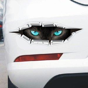 3D Cars Sticker Eye Vehicle Decor men's Eyes Peek Beautiful Woman Animal Car stickers Decal Ornaments