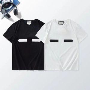 S-4XL Patrón de impresión de lujo Camiseta de los hombres Tamaño de gran tamaño Personalidad de moda sueltos Hombres diseño camisas Camisetas de alta calidad para mujer Blanco y negro