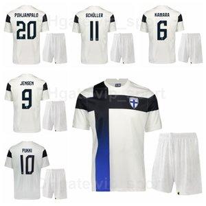 2021-2022 فنلندا كرة القدم 20 جويل Pohjanpalo جيرسي مجموعة 10 Teemu Pukki 6 Glen Kamara Jukka Raitala Juhani juhani Ojala