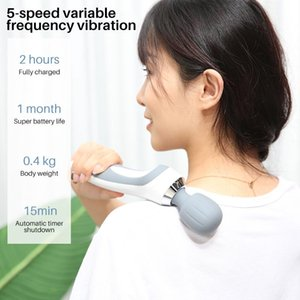 Electric Massagers Rechargeable Waterproof Vibration Massager Portable Massage Hammer Handheld Relieve Slimming Shaping