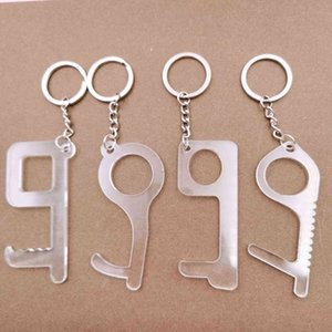 acrylic key chain EDC for epidemic prevention