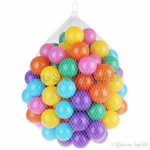 طفل اللعب 5.5 سنتيمتر الملونة البحرية الكرة موجة الطفل مضحك لعب الإجهاد الهواء الكرة في المرح الرياضة سباحة السباحة المحيط لعب الكرة