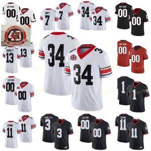 Ra NCAA College Jerseys Georgia Bulldogs 3 Todd Gurley II 3 Zamir White 34 Herschel Walker 35 Brian Herrien Custom Football Stitched