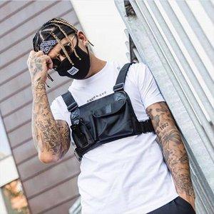 Street Style Тактическая сундук Bag Bag Hip Hop Skateboard Военные для мужчин Функциональная талия Пакеты Регулируемый Жилет