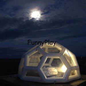 Star Camping Soccer House Football Polygon Палатка, Открытые москитные палатки, надувные палатки для выставки