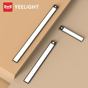 New YEELIGHT Sensor Night Light LED Smart Human Motion Induction Light Bar Rechargeable Cabinet Corridor Wall Lamps Cabinet lamp