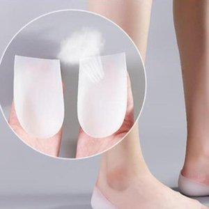 Unsichtbare Erhöhungseinlegesohle Socken Erhöhte Pad Ferse Pad Halb Silikon Erhöhung Artefakt für Frauen Drop Shipping Schuheinsätze
