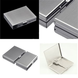 Metal Material Cigarettes Cases 302 Stainless Steel Boxes Originality Mens Organizer High hardness Commercial Affairs Gift 11hy F2 AOK7