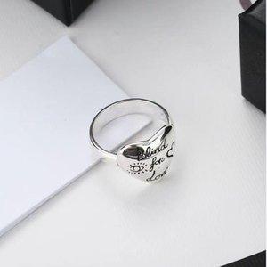 Femmes Designer Silverl Anneaux de haute qualité S925 Sterling Silver Birt Bijoux de mode